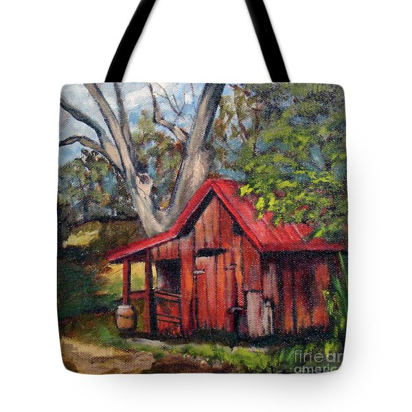 The Old Pig Barn Tote Bag