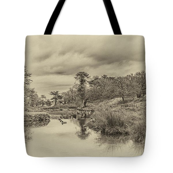 The Old Pond Tote Bag