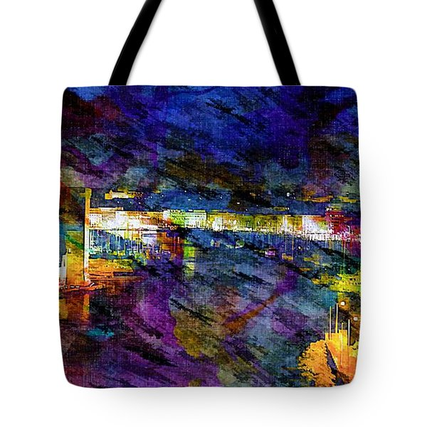 The Old Port Marseille 1 Tote Bag
