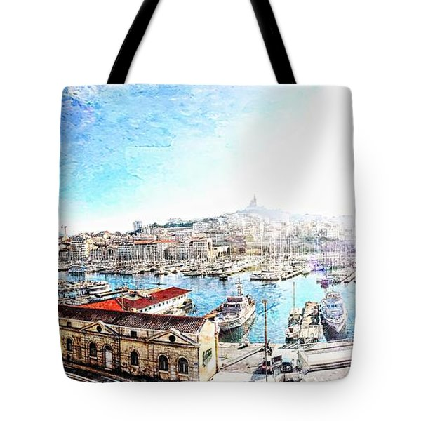 The Old Port Of Marseille  2 Tote Bag