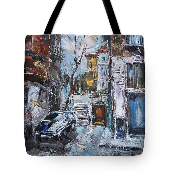 The Old Quarter Tote Bag
