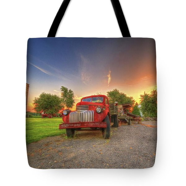 Country Treasure Tote Bag