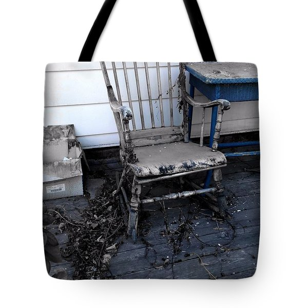 The Old Rocker Tote Bag by Jim Vance