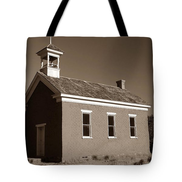 The Old Schoolhouse Tote Bag by David Lee Thompson
