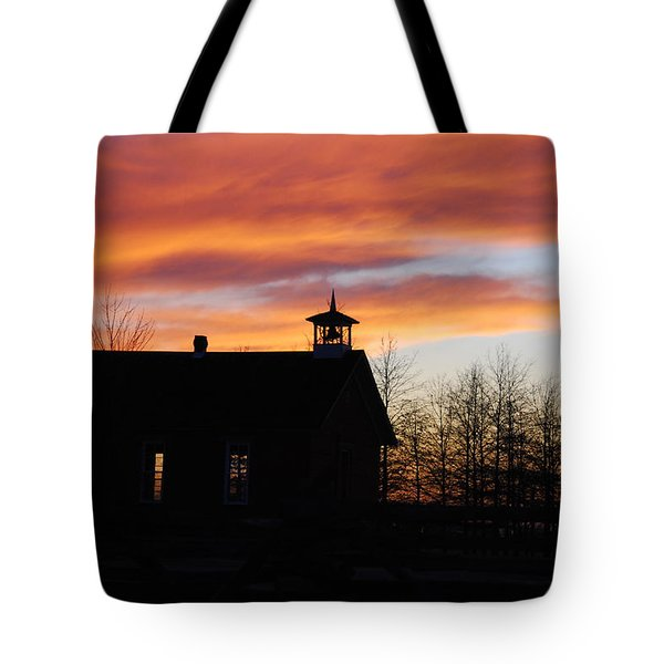 The Old Schoolhouse Tote Bag