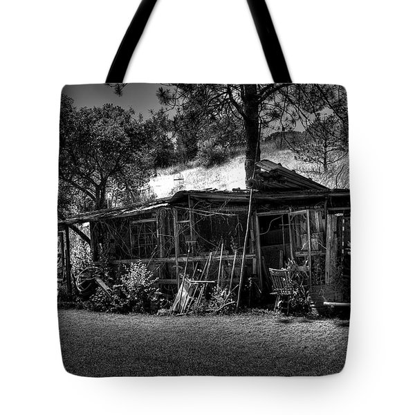 The Old Shed II Tote Bag by David Patterson