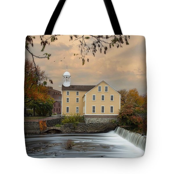 The Old Slater Mill Tote Bag