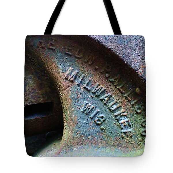 The Old Stamp Mill- Findley Mine Tote Bag