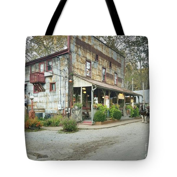 The Old Story Inn 1851 Nashville Indiana - Original Tote Bag