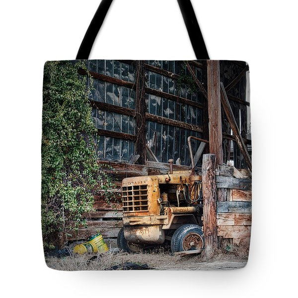 Tote Bag featuring the photograph The Old Train Depot by Mark Guinn