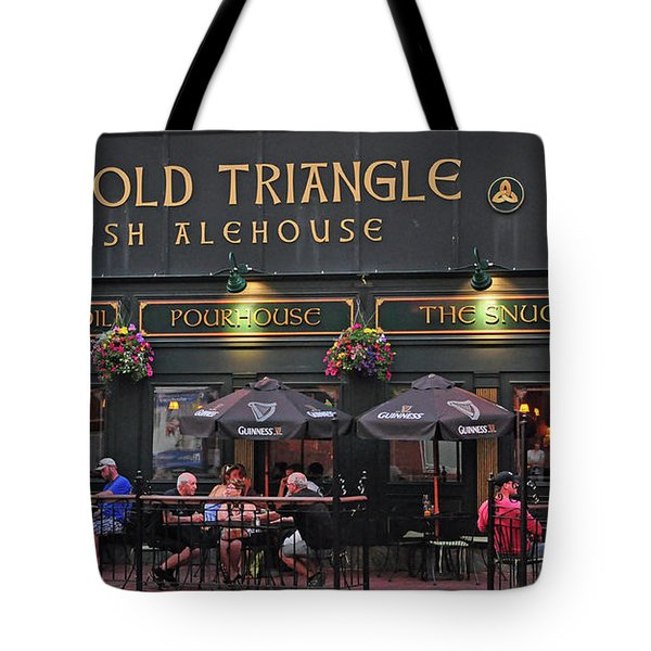 The Old Triangle Alehouse Tote Bag