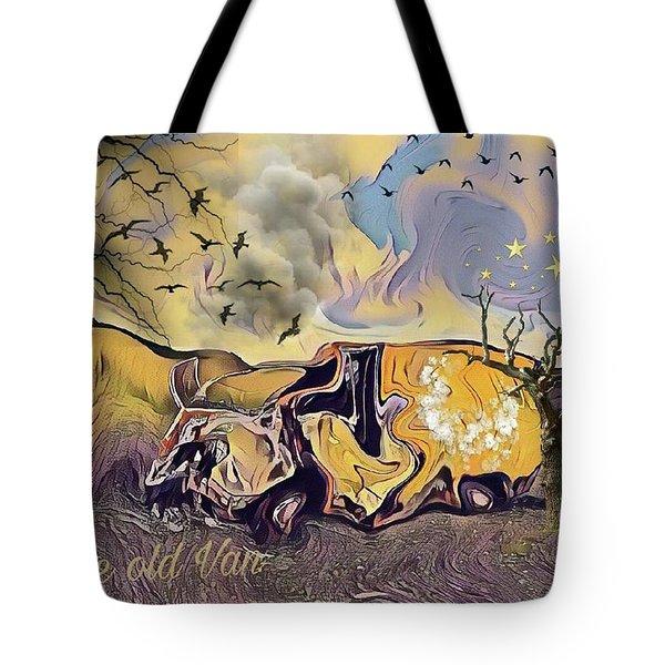 The Old Van Tote Bag