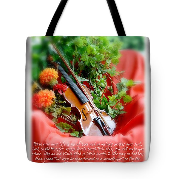 The Old Violin  Tote Bag