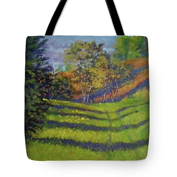 The Old Wagon Trail Tote Bag
