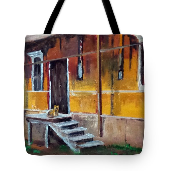 The Old Warehouse Tote Bag