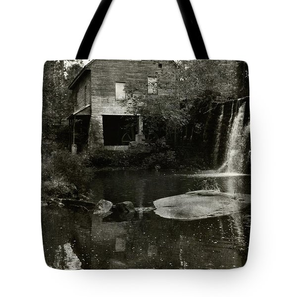 The Old Water Mill Tote Bag