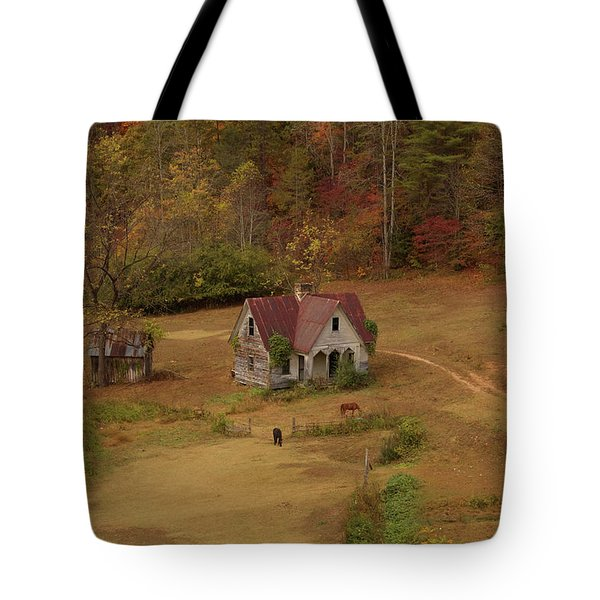 The Oldest House In North Carolina Tote Bag by Sharon Batdorf