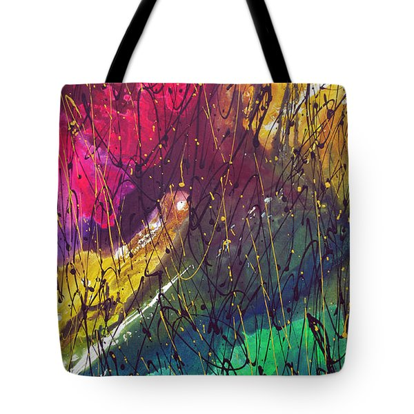 Tote Bag featuring the painting The Oldest by Rick Baldwin