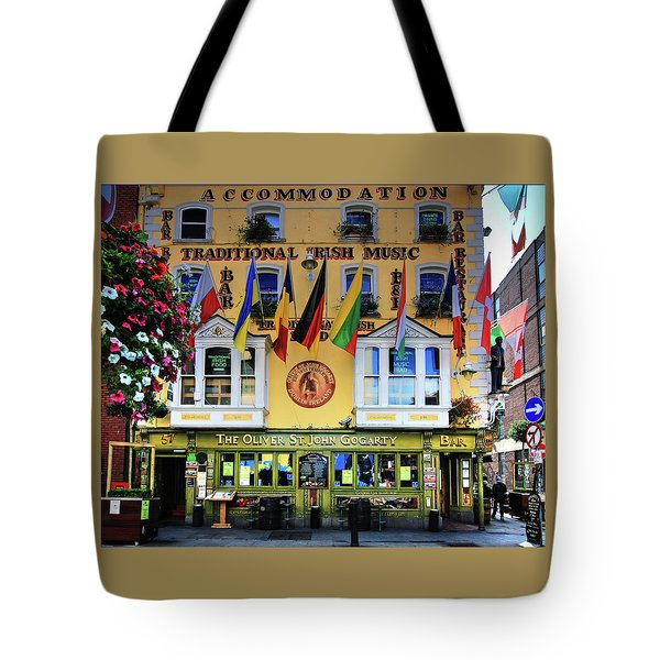 The Oliver St John Goarty Bar Dublin Tote Bag