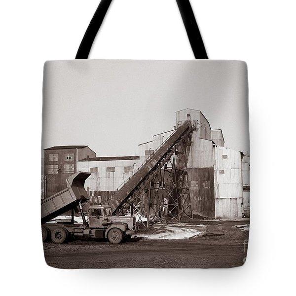 The Olyphant Pennsylvania Coal Breaker 1971 Tote Bag