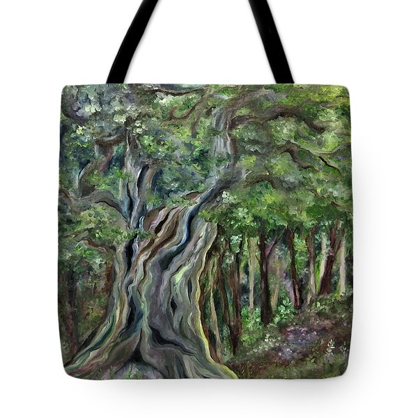 The Om Tree Tote Bag