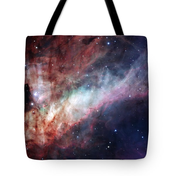 Tote Bag featuring the photograph The Omega Nebula by Eso