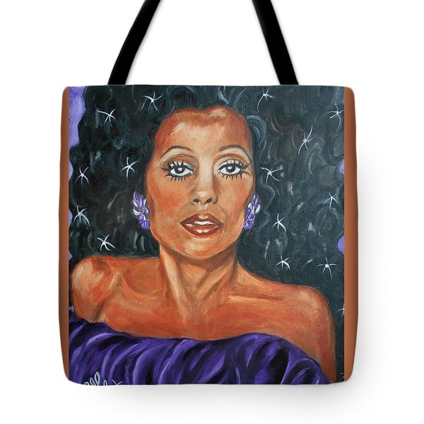 The One And Only Diana Ross Tote Bag