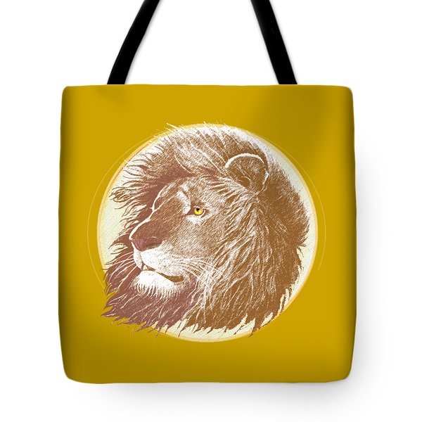 Tote Bag featuring the mixed media The One True King by J L Meadows