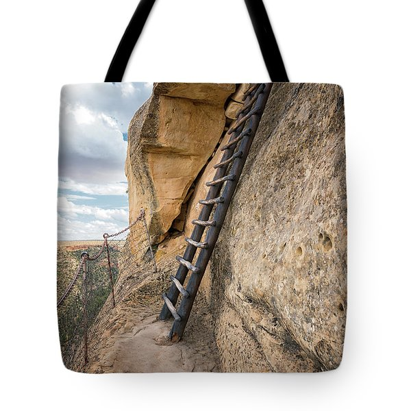 The Only Way Out Tote Bag