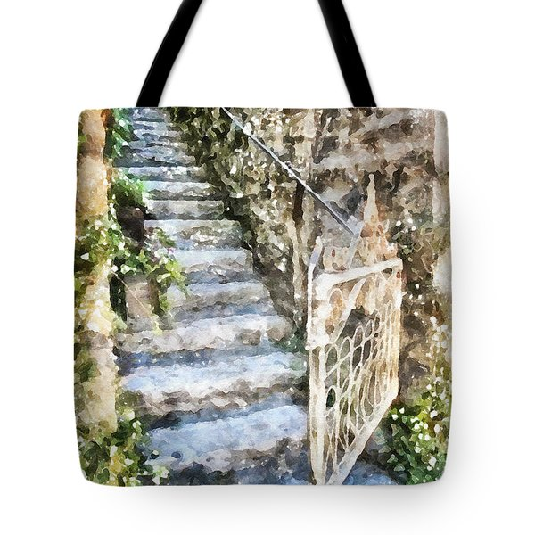 The Open Gate Tote Bag by Shirley Stalter