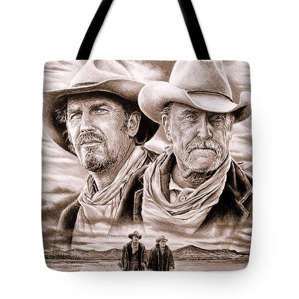 The Open Range Sepia  Tote Bag