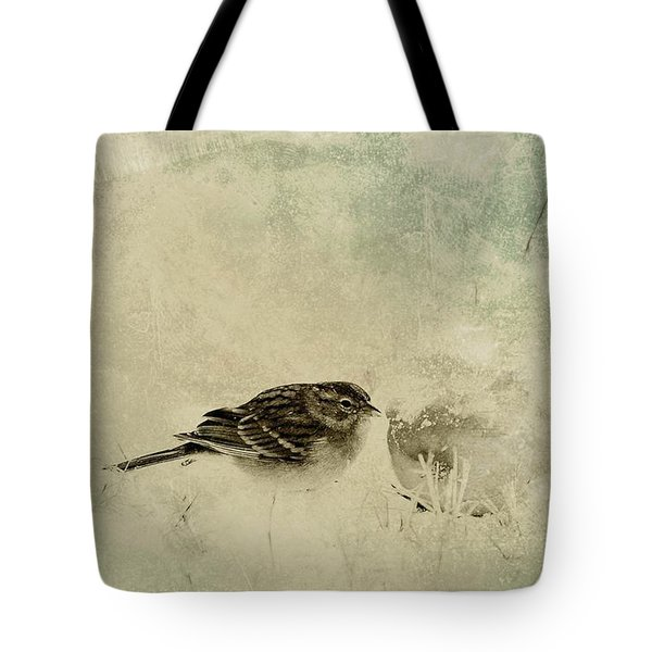 The Orange And Sparrow Tote Bag