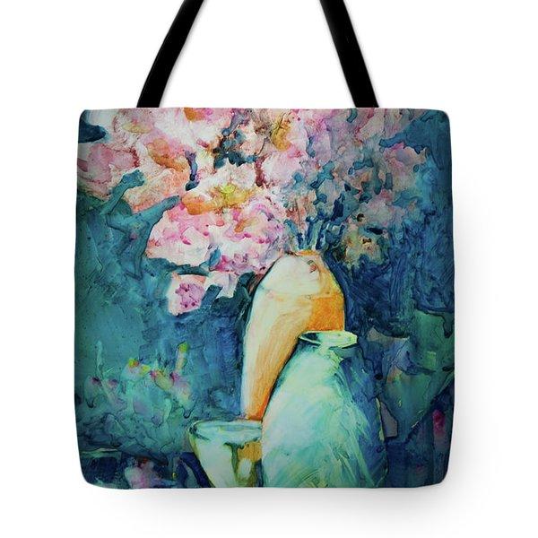 The Orange Vase Tote Bag