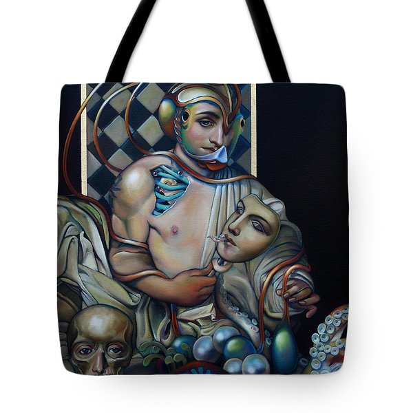 The Orbicle Of Delphi Tote Bag by Patrick Anthony Pierson