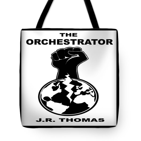 Tote Bag featuring the digital art The Orchestrator Cover by Jayvon Thomas