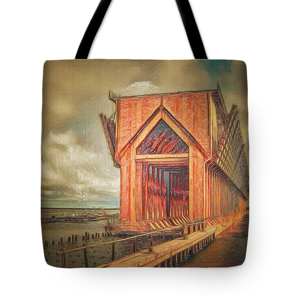 The Ore Is Gone Redux Tote Bag