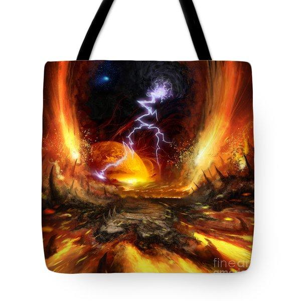 The Origin Tote Bag