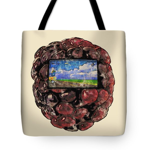The Blackberry Concept Tote Bag