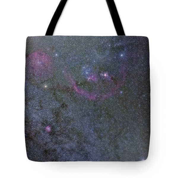 Tote Bag featuring the photograph The Orion Complex by Charles Warren