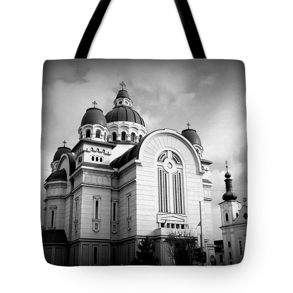 The Orthodox Cathedral And The Saint John The Baptist Church Tote Bag