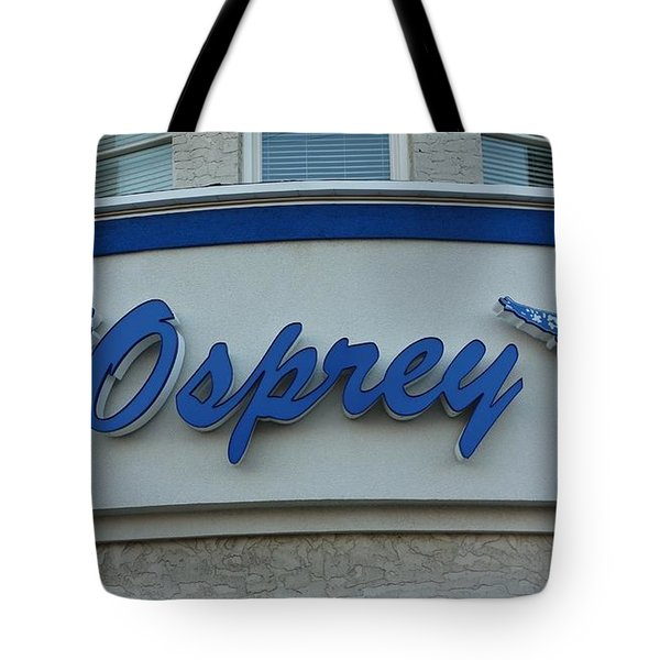 The Osprey Marqee Tote Bag