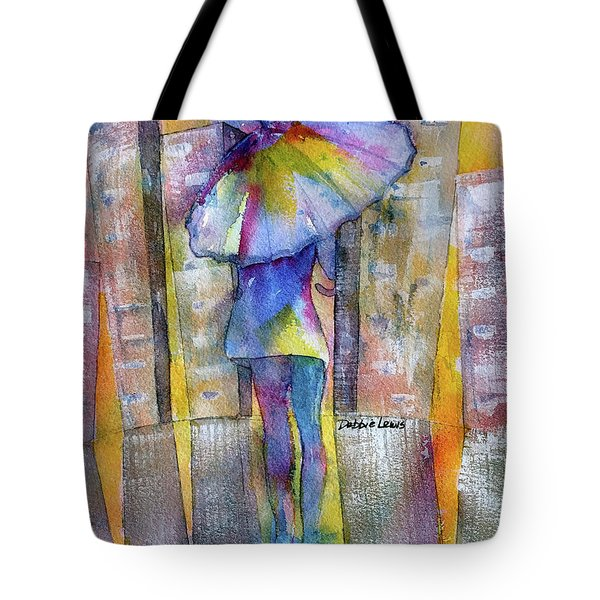 The Other Girl In The City Tote Bag