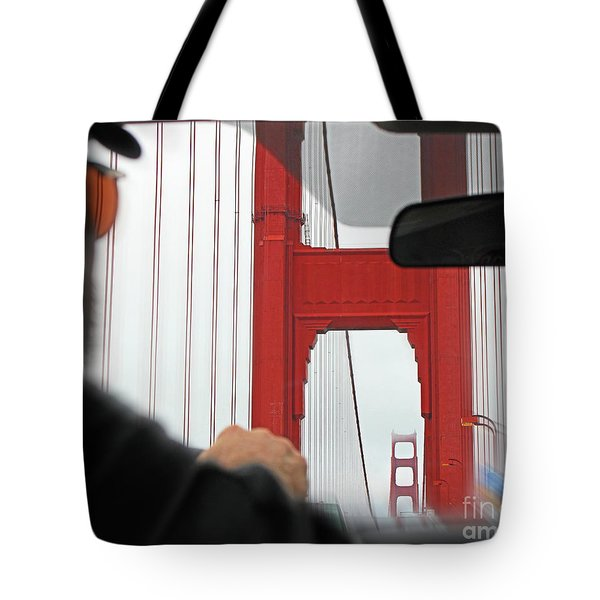 The Other Side Tote Bag by Cheryl Del Toro