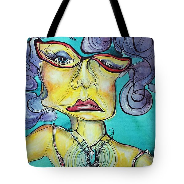 The Other Side Of Her Tote Bag