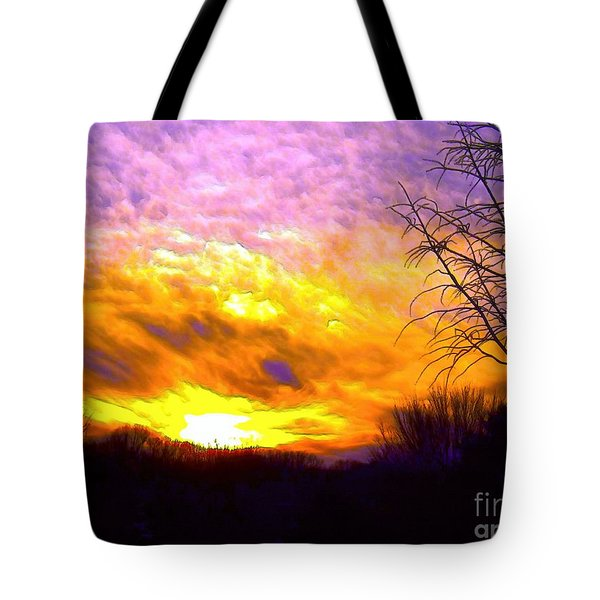 The Other Side Of The Rainbow Tote Bag