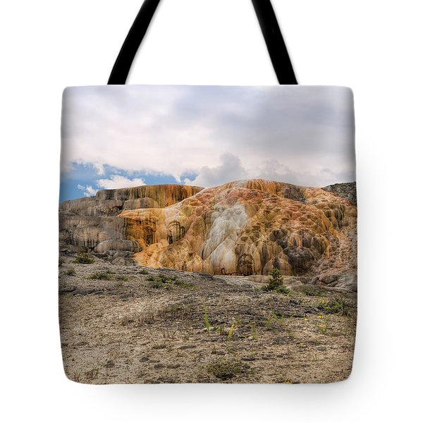 Tote Bag featuring the photograph The Other Yellowstone by John M Bailey
