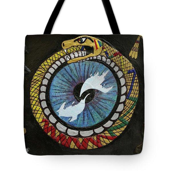 The Ouroboros Tote Bag