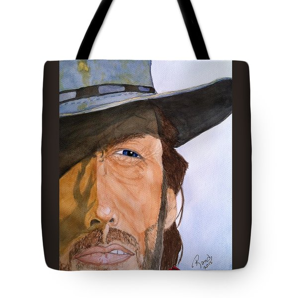 The Outlaw Josey Wales Tote Bag by Rand Swift