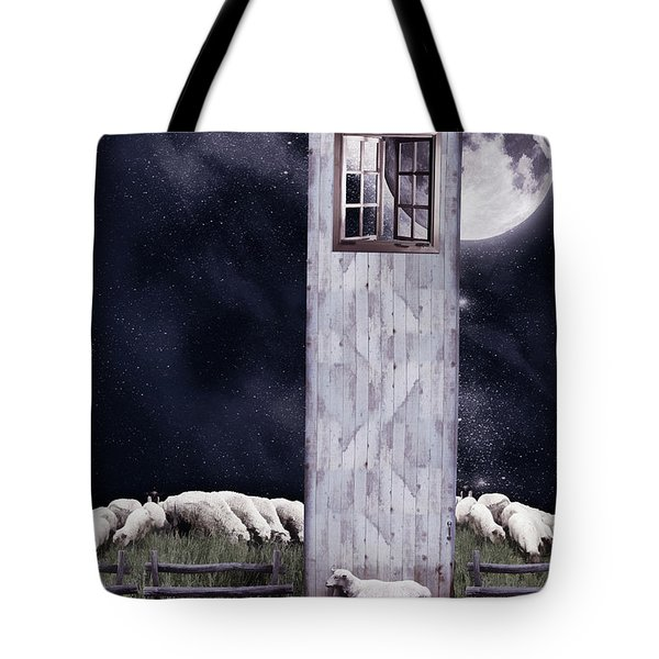 The Outsider Tote Bag by Mihaela Pater