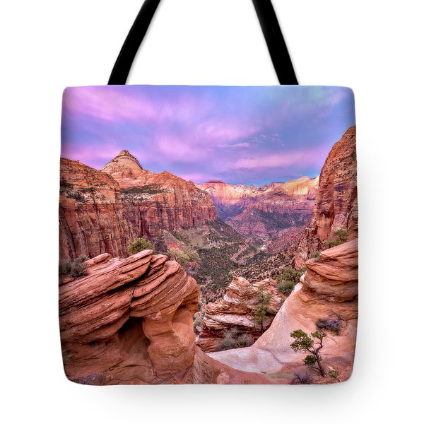 The Overlook Tote Bag by Eduard Moldoveanu